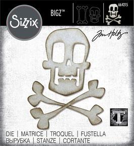 Sizzix by Tim Holtz Bigz-Stanzform/Skull & Crossbones