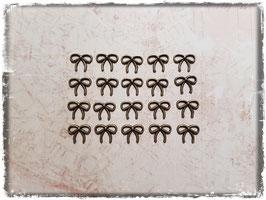 Metall Charms-Schleife Bronce-153