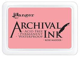 Ranger-Archival Stempelkissen/Rose Madder