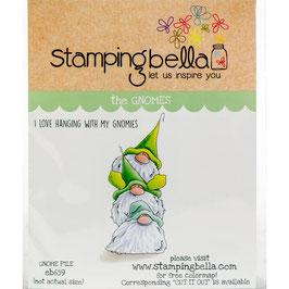 Stamping Bella-Cling Stamp/Gnome Pile