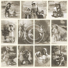 Pion Design-From Grandmas Attic/Christmas greetings PD1314F