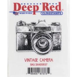 Deep Red-Stempel/Vintage Camera