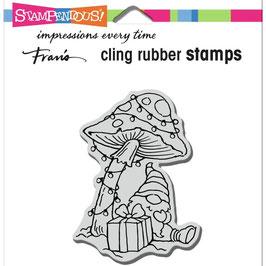 Stampendous! Stempel-Mushroom Gnome