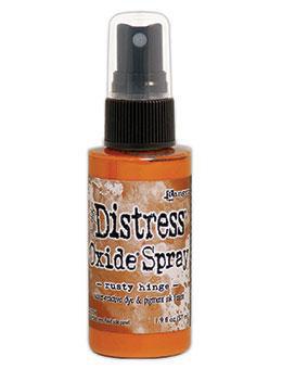 Distress Oxide Spray-rusty hinge