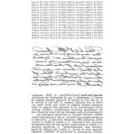 Tim Holtz Stempel Set-Reflections-Text backward intentionally/CMS111