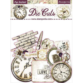 Stamperia-Die Cuts Romantic Collection-Journal