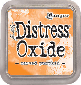 Distress Oxide Stempelkissen-carved pumpkin