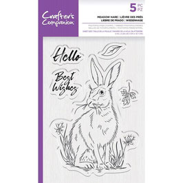 Crafter's Companion-Stempel/Meadow Hare