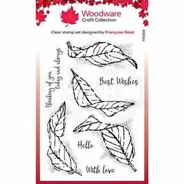Woodware-Stempel/Fluttering