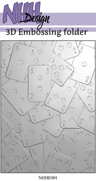 NHH Design-3D Prägeschablone/Cards