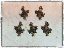 Metall Charms-Alice im Wunderland Bronce 1/132