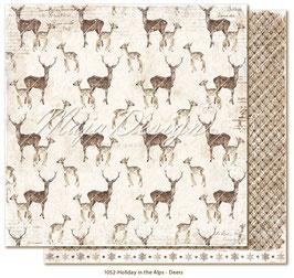 Maja Design-Holiday in the Alps/Deers