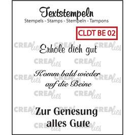 "Crealies-Clear Stamps ""Besserung 02"""