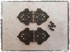 Scharniere - Vintage bronce 327