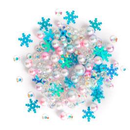 Buttons Galore-Sparkletz Shaker Elements/Glacier 10gr.