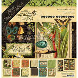 Graphic 45 Deluxe Collector's Edition-Natures Notebook 12x12""
