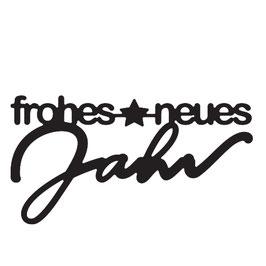"""Vaessen Creative by Mundart Stempel-Stanzform """"frohes neues Jahr"""""""