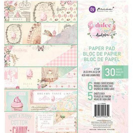 Prima Marketing-Paper Pad Dulce 8x8""