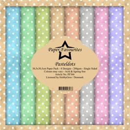 """Paper Favourites-Pastel Dots 12x12"""""""