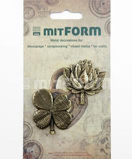Mitform-Metall Charms/Flowers 5
