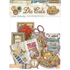 Stamperia-Die Cuts Atelier Des Arts