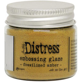 Ranger by Tim Holtz-Distress Embossing Glaze/fossilized amber