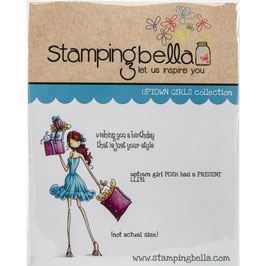 Stamping Bella-Cling Stamp/Posh Has A Present