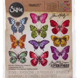 Stanzformen Framelits-Sizzix by Tim Holtz/Flutter