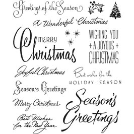 Stampers Anonymous by Tim Holtz-Stempel/Christmastime #3