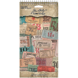 Idea-Ology by Tim Holtz/Sticker Book-Ticket Book