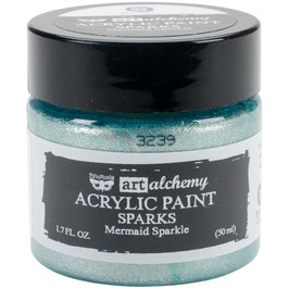 Finnabair-Art Alchemy Sparks Acrylfarbe/Mermaid Sparkle