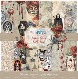 """Papers for you-Terror Glam 12x12"""""""