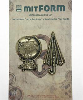 Mitform-Metall Charms/Travel 2