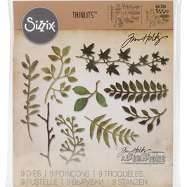 Sizzix by Tim Holtz Thinlits-Stanzform/Garden Greens