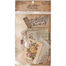 Tim Holtz-Idea ology/Ephemera Pack-Thrift Shop