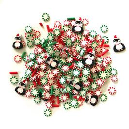 Buttons Galore-Sprinkletz Shaker Elements/Happy Feet 12gr.