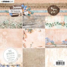 """Studio Light-Paper Pad Summer Breeze 6x6"""" PPSUB146"""