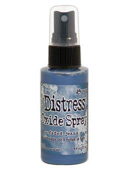 Distress Oxide Spray-faded jeans