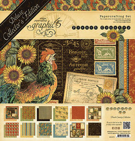 Graphic 45 Deluxe Collector's Edition-French Country