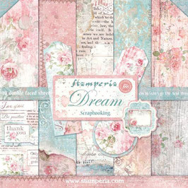 Stamperia-Paper Pad Dream 12x12""
