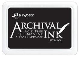 Ranger-Archival Stempelkissen/Jet Black