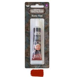 Finnabair Art Alchemy-Matte Wax/Rusty Red
