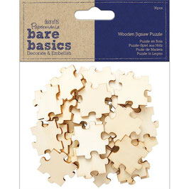Papermania/Wooden Jigsaw Puzzle-Holzpuzzle