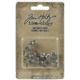 Idea-Ology by Tim Holtz/Quote Flair-Antiqued Gems