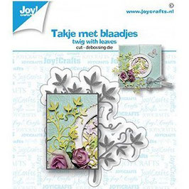 Joycrafts Stanzform-Twig with leaves