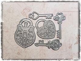 Stanzform-Schlösser/Schlüssel 1-2010
