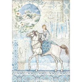Stamperia Reispapier A4-Winter Tales DFSA4492