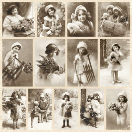 Pion Design-From Grandmas Attic/Fairytale of winter PD132F