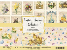 Reprint-Vintage Easter Collection-A4 Paper Pad