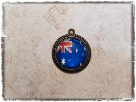 Cabochon Anhänger - Flagge Australien 2.040